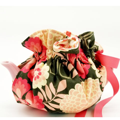 Coral Flowers/Abstract - Tea Cozy