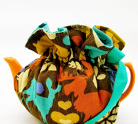 Woodland Wildlife/Blue Birds - Tea Cozy