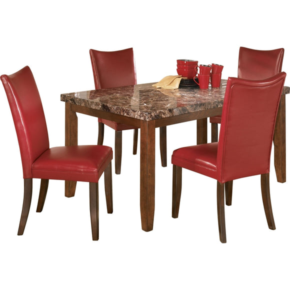 Lacey 5 Piece Casual Dining - Brown