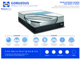 Sealy Gorgeous Proback Tight Top Cushion Firm Mattress Set