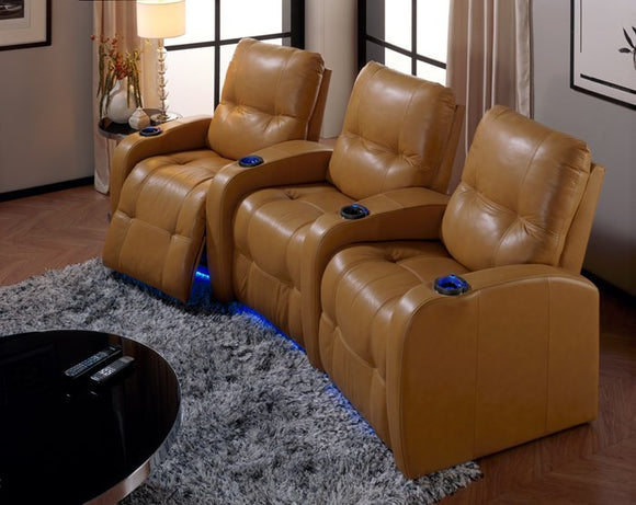 Auxiliary Home Theater manual recliner (per chair) Champion cover