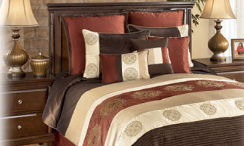 Milano Russett 9 Piece Queen Set