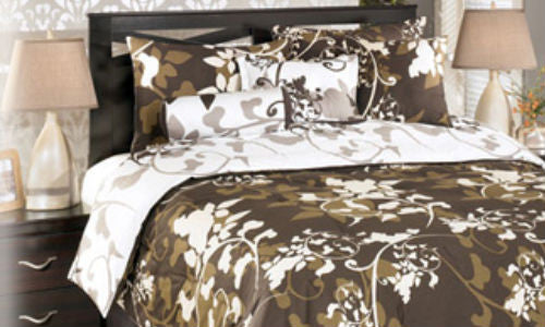 Dawson Aubergine 7 Piece Queen Set