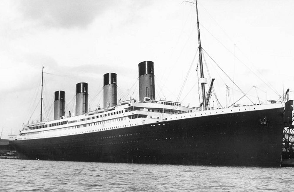 Titanic the one and only voyage