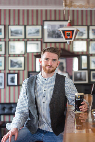 Irish Tweed Vest