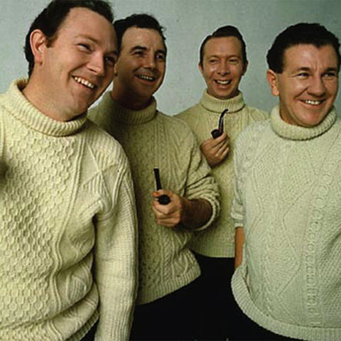 Aran - Clancy Brothers (Photo: https://www.pinterest.ie/pin/529032287481956656/)