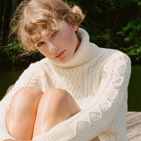 Taylor swift aran sweater (Photo: https://www.pinterest.ie/pin/187603140717059081/)