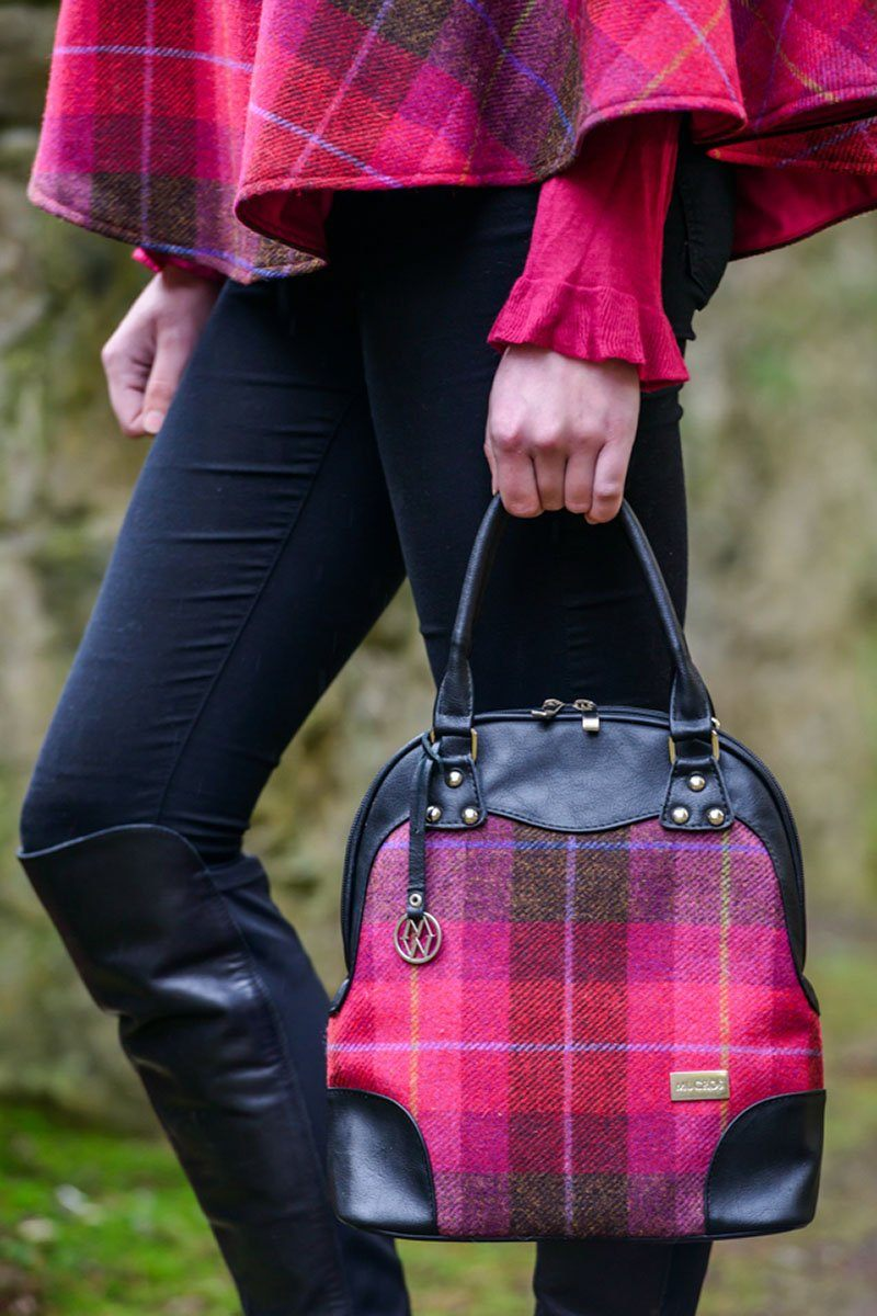 Abbie bag 1 - pink check