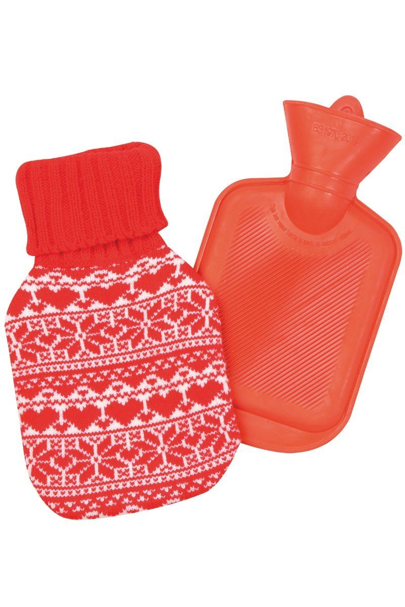 Festive Hot Water Bottle (CS115) Christmas Lee Valley Ireland