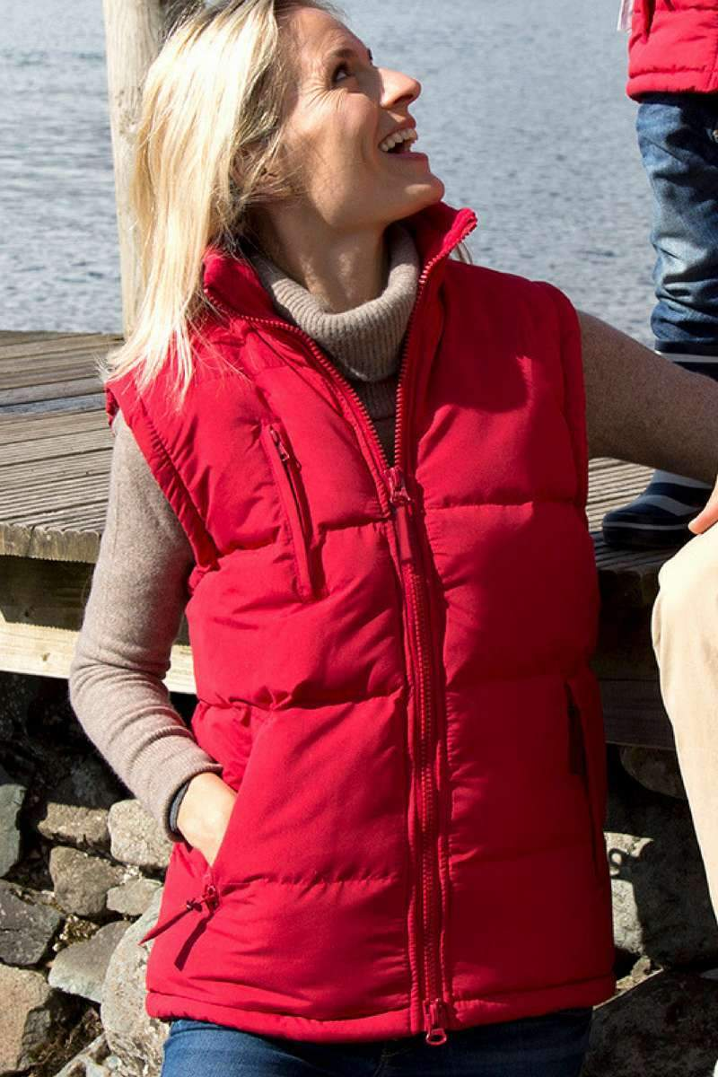 Ultra Padded Bodywarmer (RE88A) Ral Ralawise XS Red