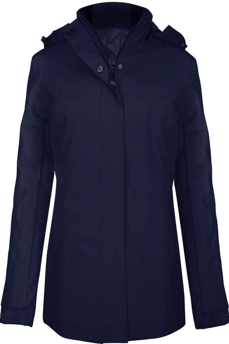 Carlow Women's Parka Jacket Navy - Lee Valley Ireland - 1