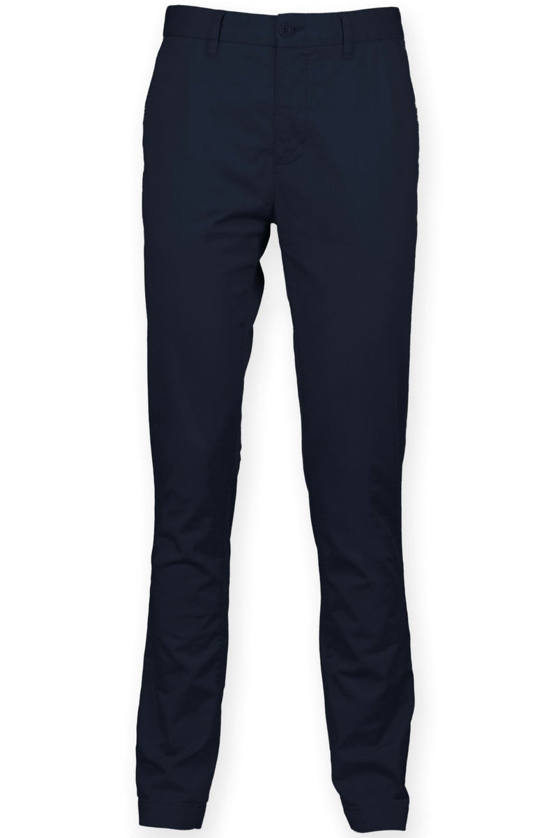 Cotton Stretch Chinos (FR621) Ral Ralawise 28R Navy