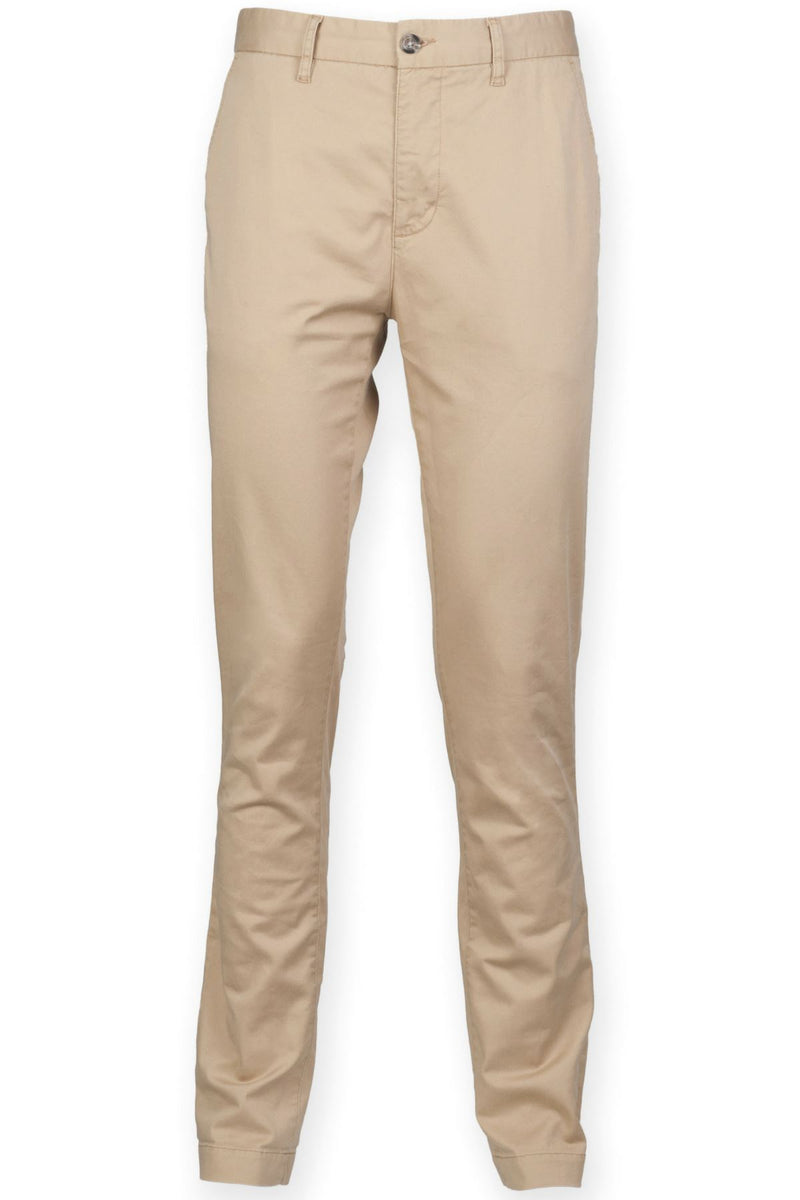 Cotton Stretch Chinos (FR621) Ral Ralawise 28R Tan