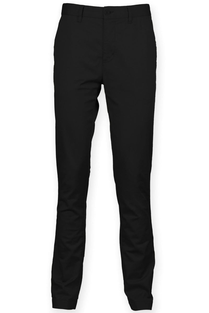Cotton Stretch Chinos (FR621) Ral Ralawise 28R Black