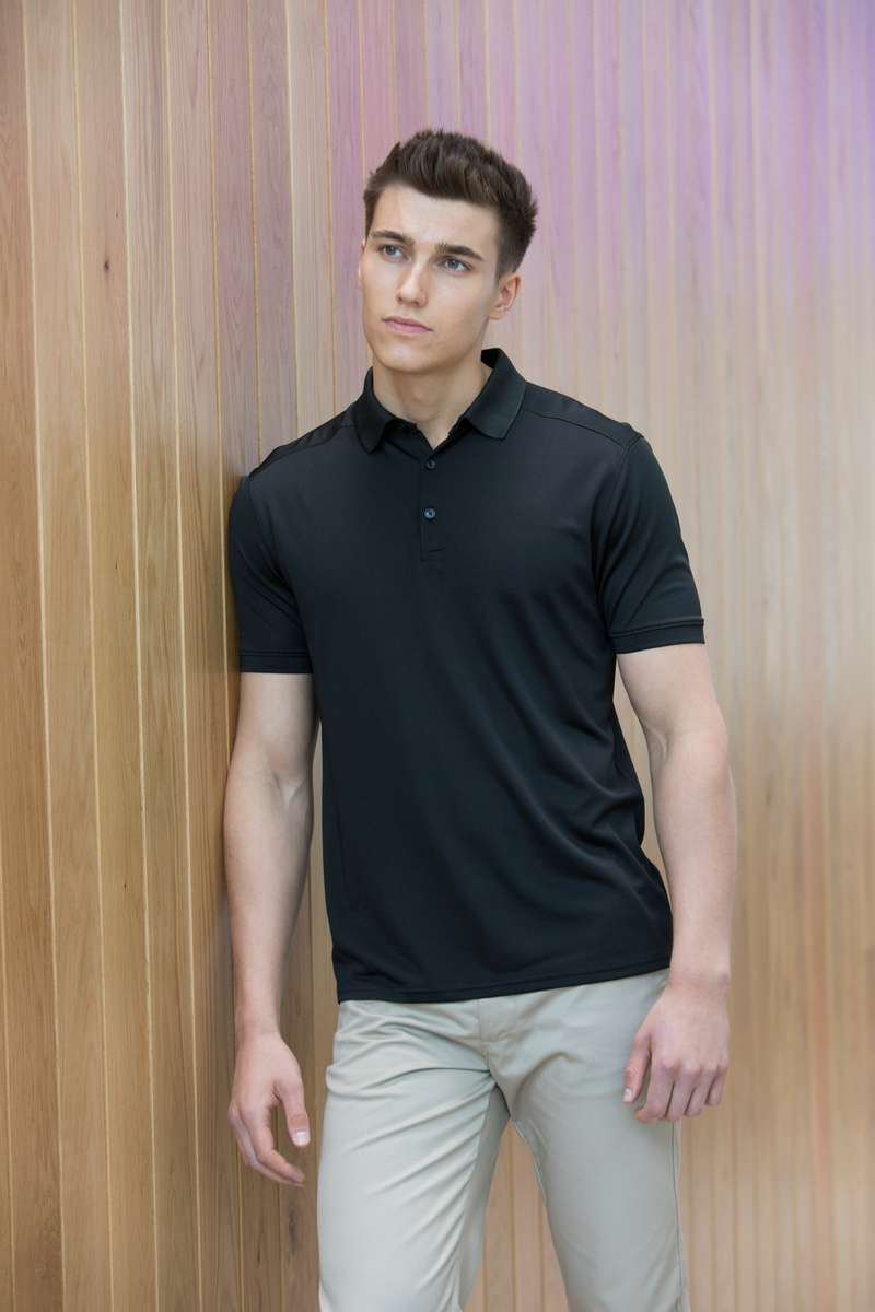 Stretch Polo Shirt - Lee Valley Ireland - Black -1