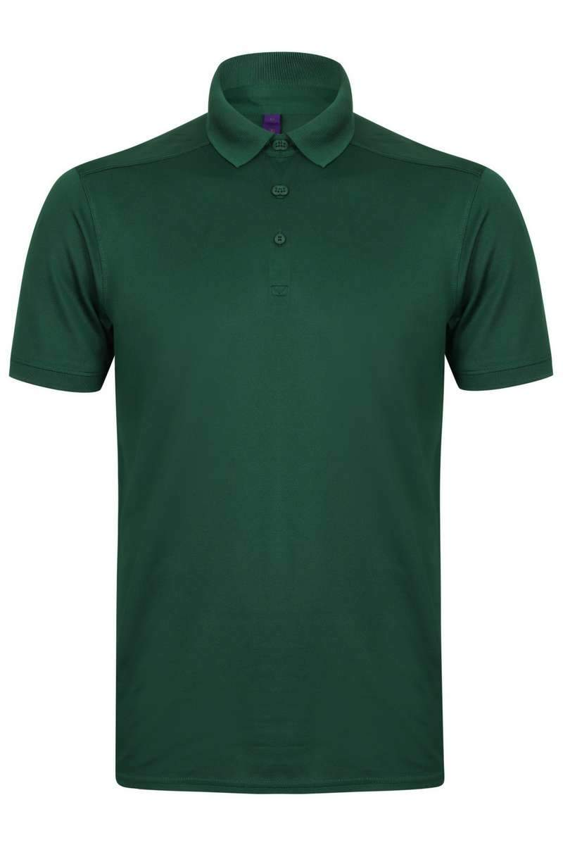 Stretch Polo Shirt - Lee Valley Ireland - Forest Green -1