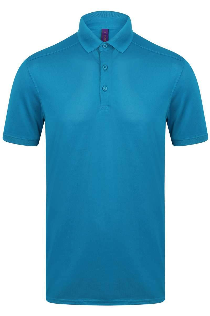 Stretch Polo Shirt - Lee Valley Ireland - Sapphire Blue - 1