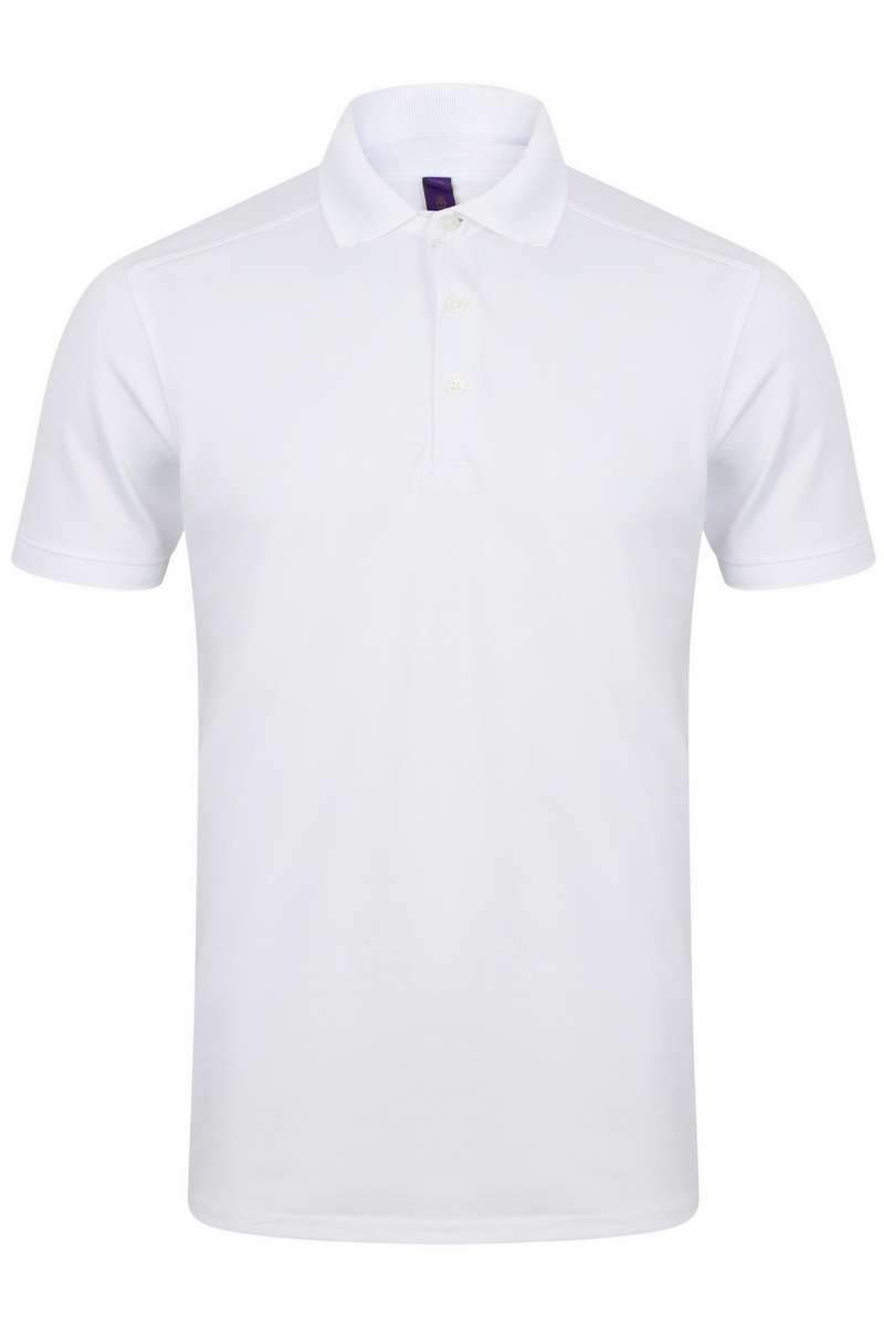 Stretch Polo Shirt - Lee Valley Ireland - White - 1