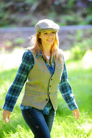 Irish Wool Tweed Cap - Celtic Tweed