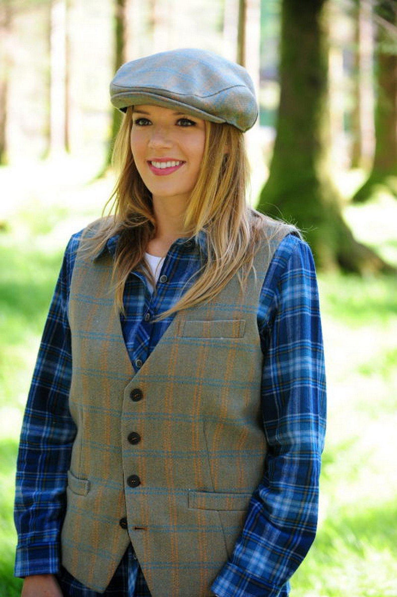 Irish Wool Tweed Cap - Celtic Tweed Caps Lee Valley Ireland