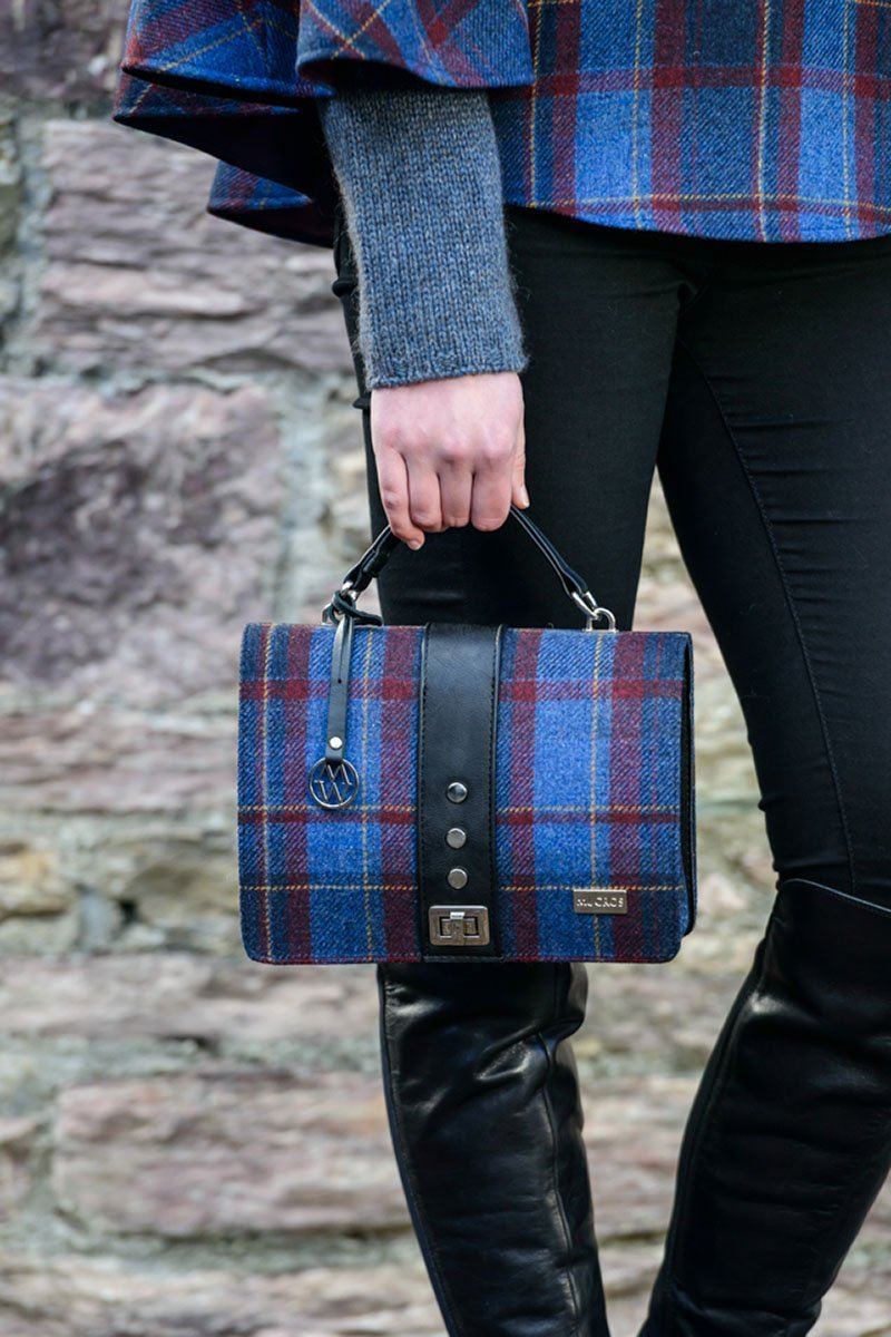 Fiona Bag 1 - blue check