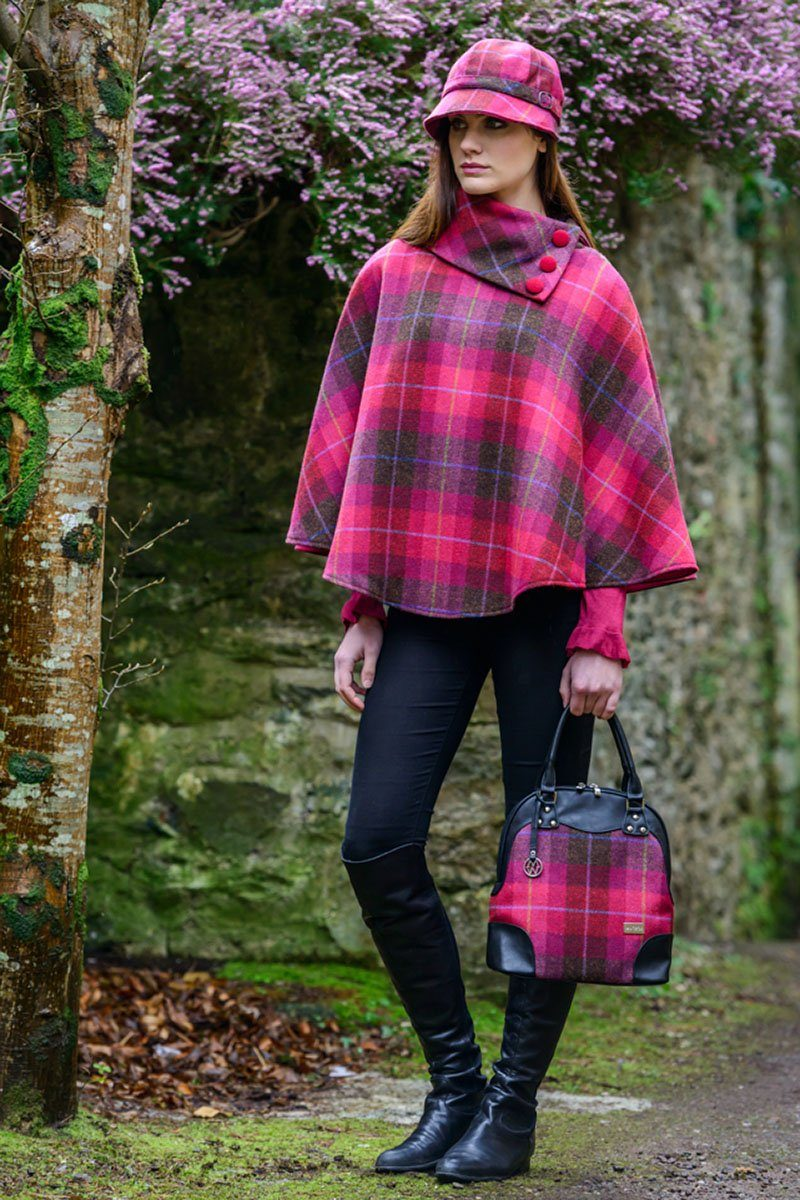 Abbie bag 2 - pink check