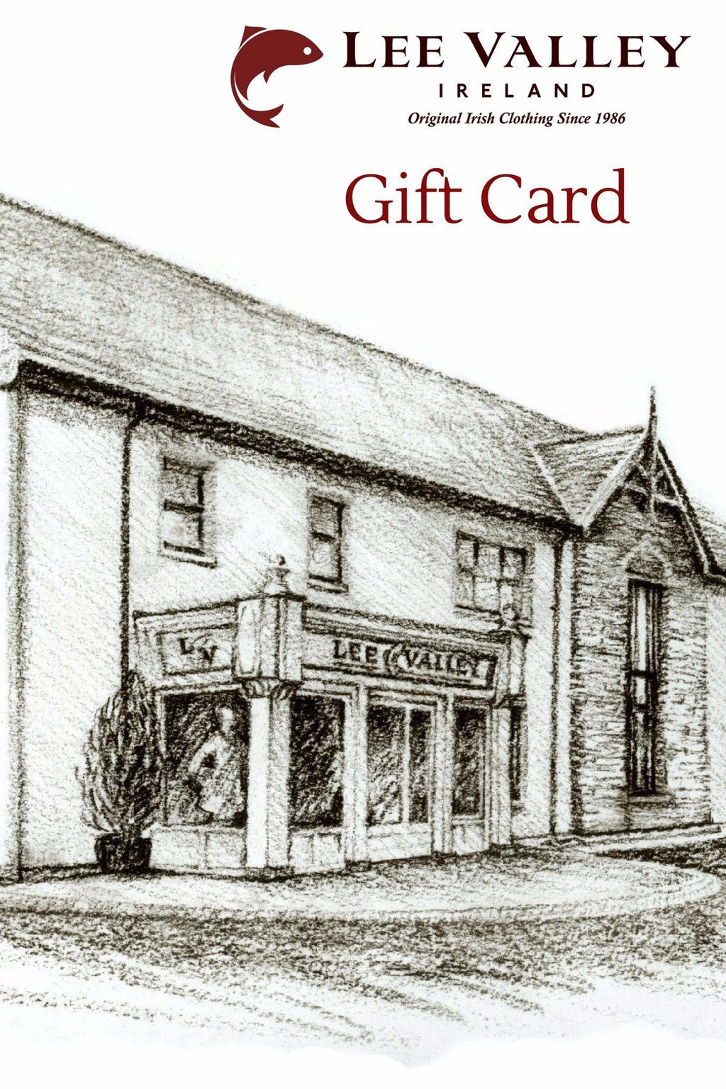 Voucher / Gift Card Gift Card Lee Valley Ireland
