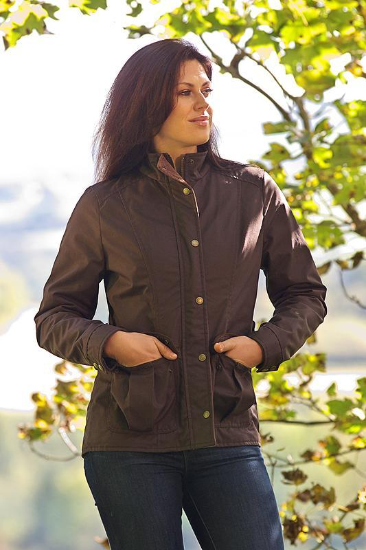 Ladies Dry Wax Jacket - Lee Valley Ireland - 1