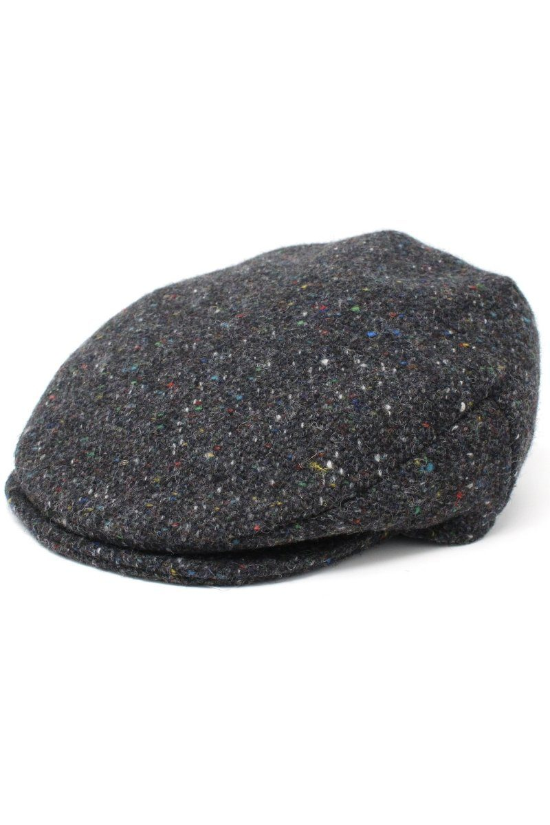 Hanna Hats Vintage Tweed Cap - Grey Cap Hanna Hats