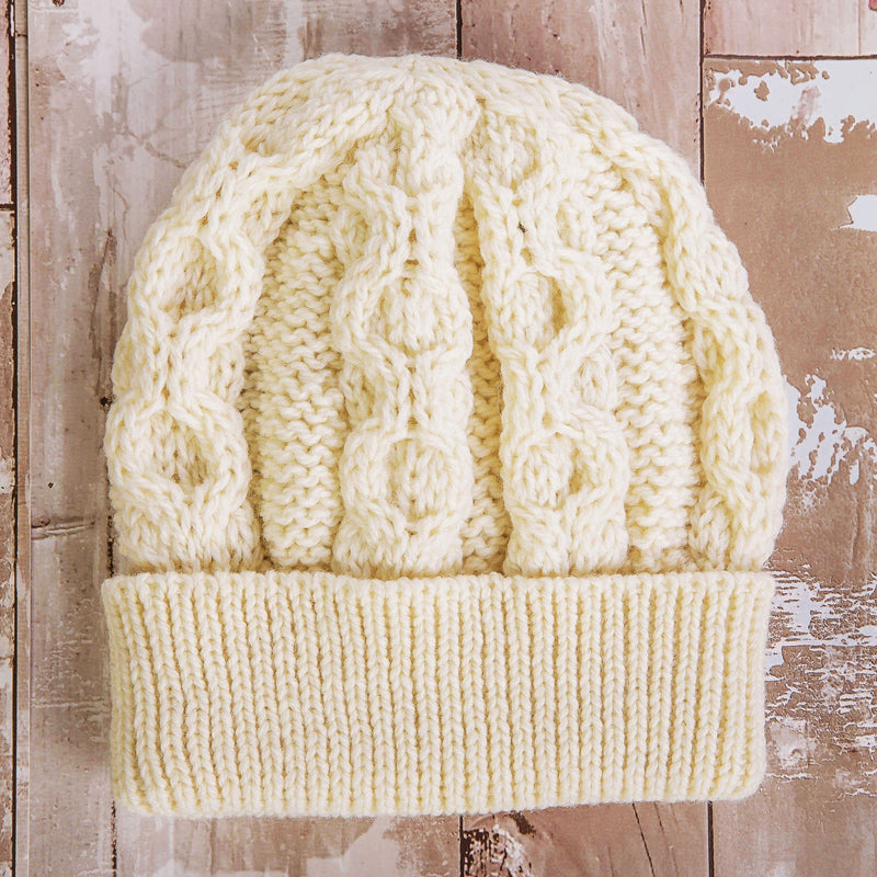 Cobh Wool Hat Ladies - Natural Cap Westend