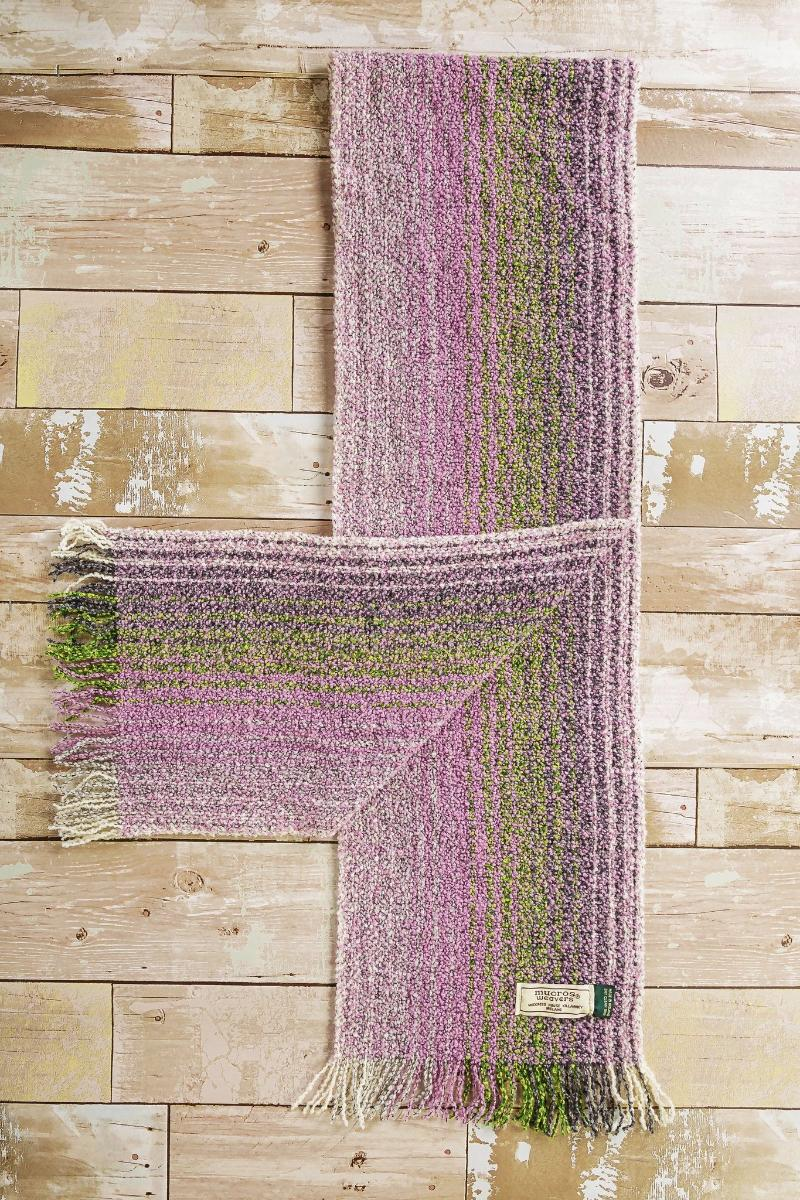 Skellig Isle Scarf - Lavender Scarf Lee Valley Ireland