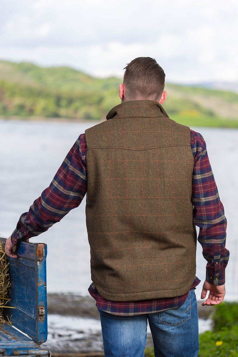 Gilet-Tweed-Moss-Irish-2