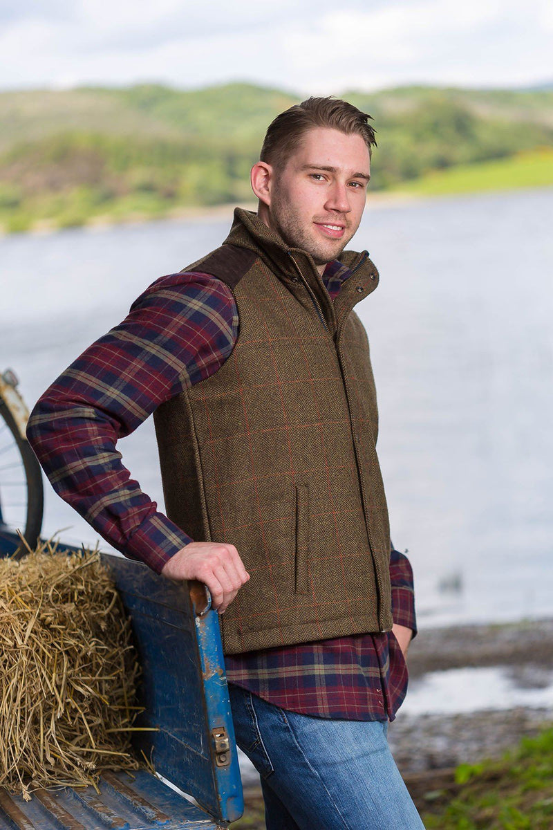 Gilet-Tweed-Moss-Irish-3