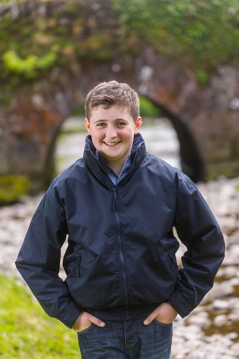 Kids Mayo Rain Jacket Navy - Lee Valley Ireland - 1