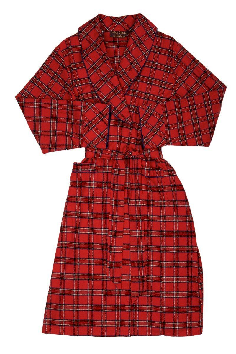 Nightwear Gift Set - Red Tartan Royal Stewart LV27 - Lee Valley Ireland - 3