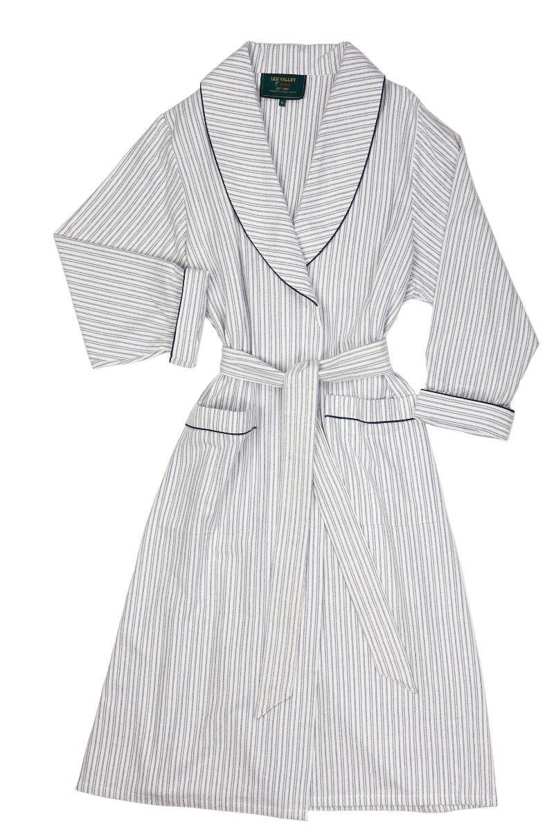 Nightwear Gift Set - Blue Ivory Stripe LV2 - Lee Valley Ireland - 3