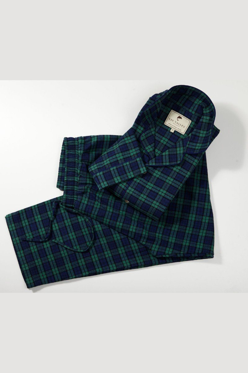 Nightwear Gift Set - Green Tartan Blackwatch LV6 - Lee Valley Ireland - 2