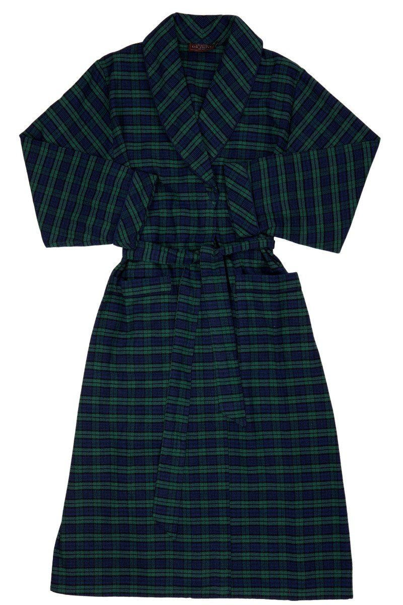 Nightwear Gift Set - Green Tartan Blackwatch LV6 - Lee Valley Ireland - 4