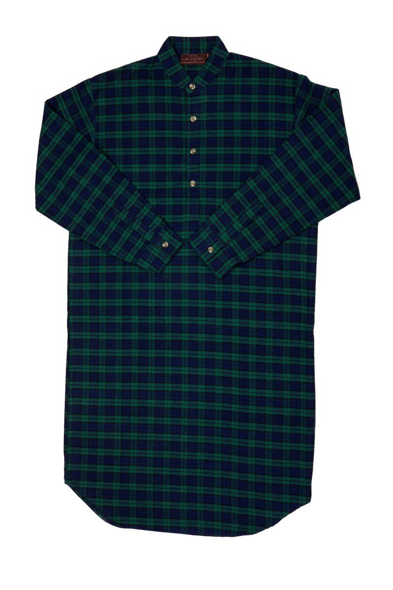 Nightwear Gift Set - Green Tartan Blackwatch LV6 - Lee Valley Ireland - 3