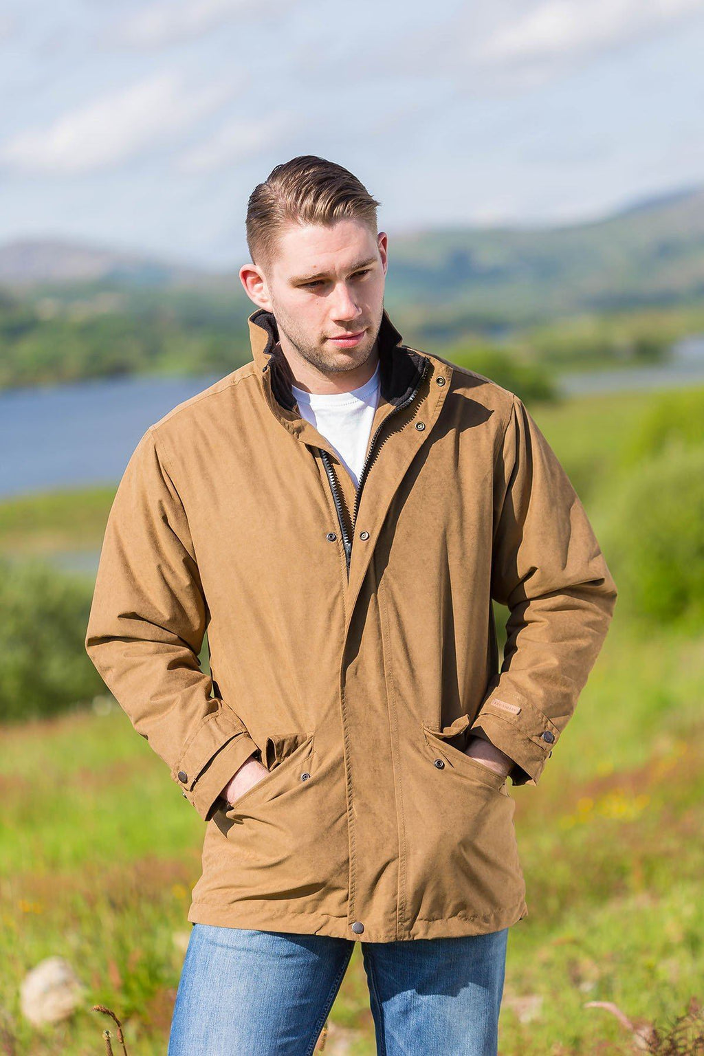 Cork Jacket Brown - Lee Valley Ireland - 1