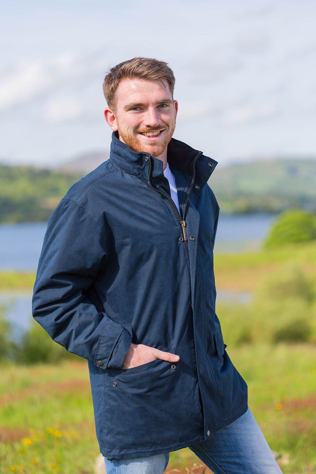 Cork Jacket Classic Navy Jackets Lee Valley Ireland