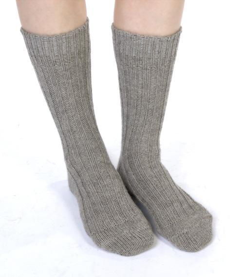 Organic Wool Socks - Lee Valley Ireland - 1