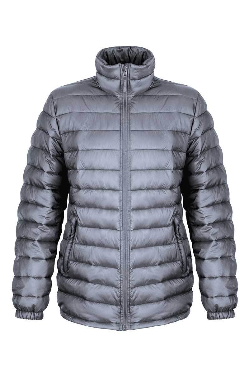 Womens Padded Glacier Jacket (R192F) Jackets Ralawise Grey XS