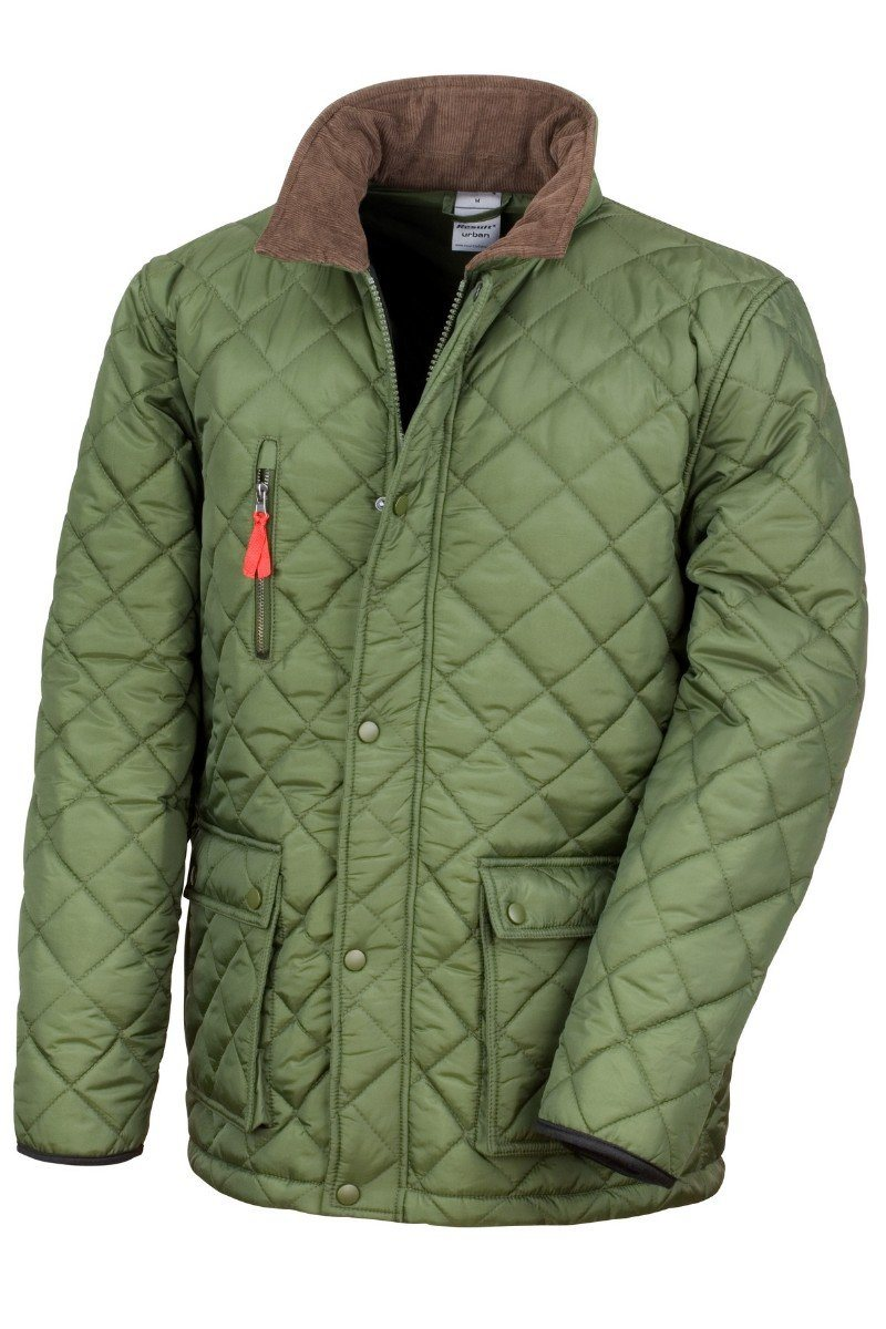 Curragh Jacket - R196X - Olive - Lee Valley Ireland - 2