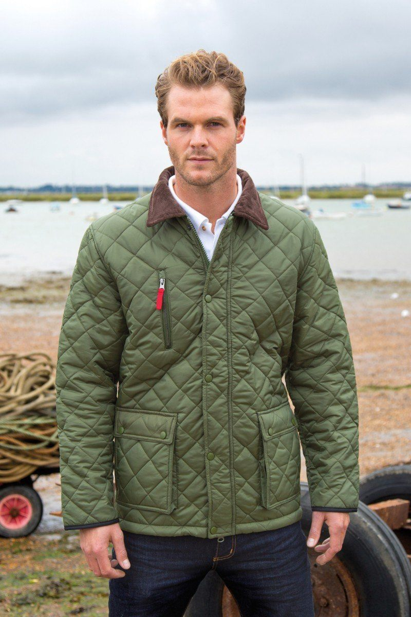 Curragh Quilt Jacket - Olive (R196X) Ral Ralawise