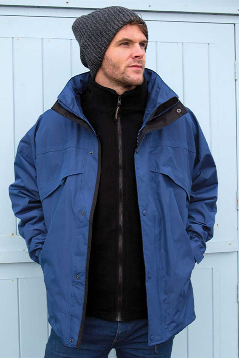 Mens 3 in 1 Jacket (RE68A) Jackets Ralawise