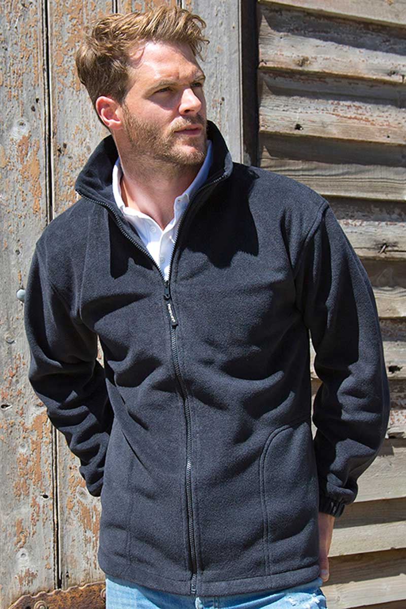 Polar Fleece Mens Jacket (RE36A) Jackets Ralawise