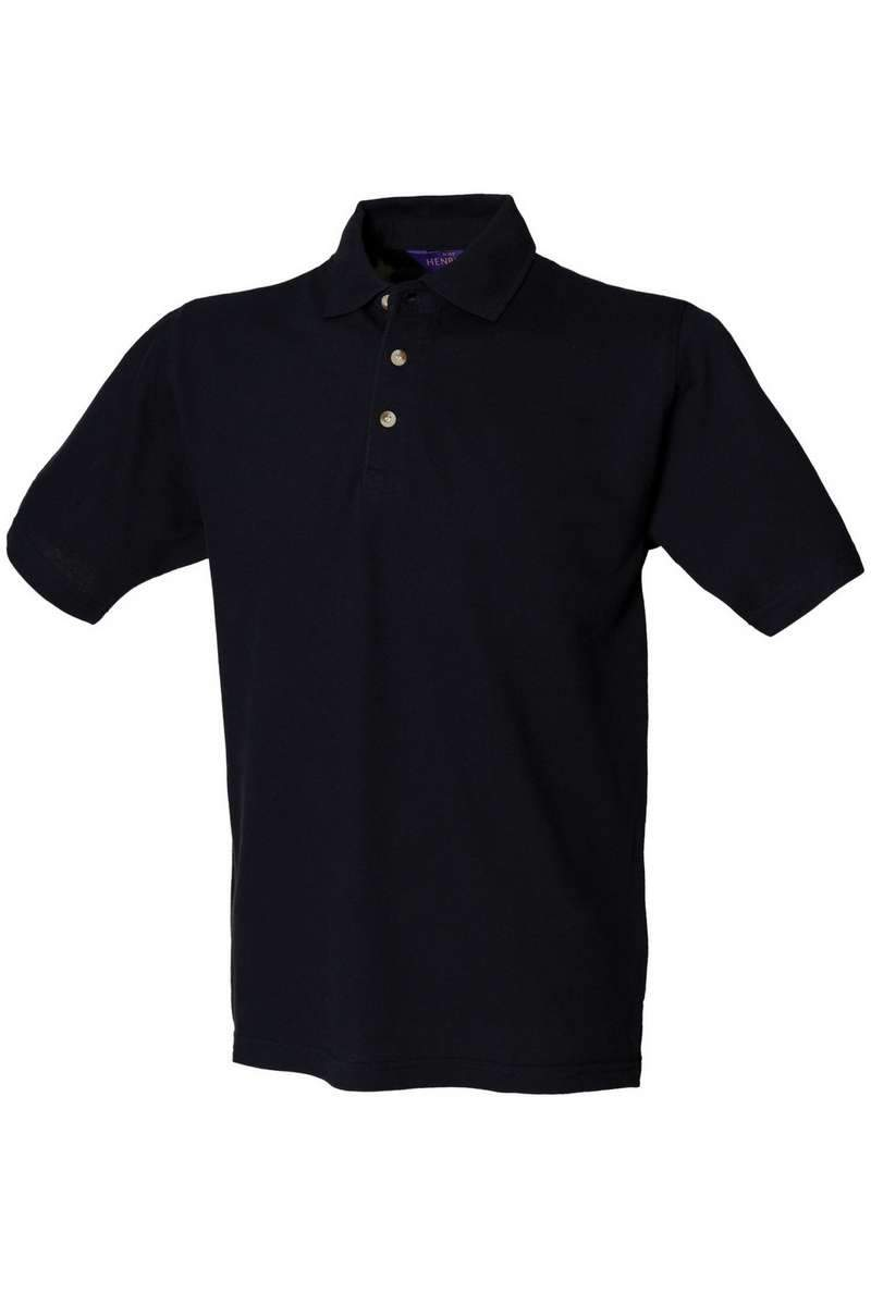 Classic Cotton Polo Shirt HB100 - Navy - Lee Valley Ireland - 1