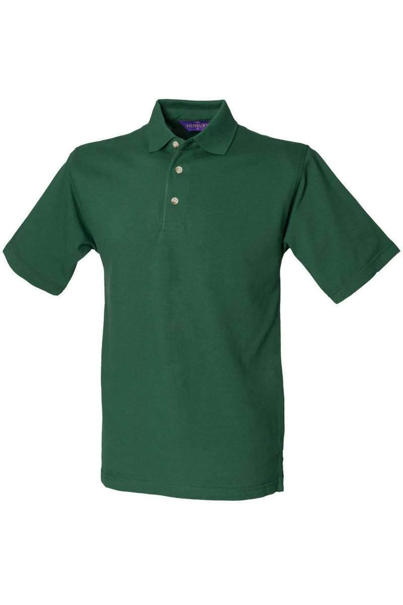 Classic Cotton Polo Shirt HB100 - Forest Green - Lee Valley Ireland - 1