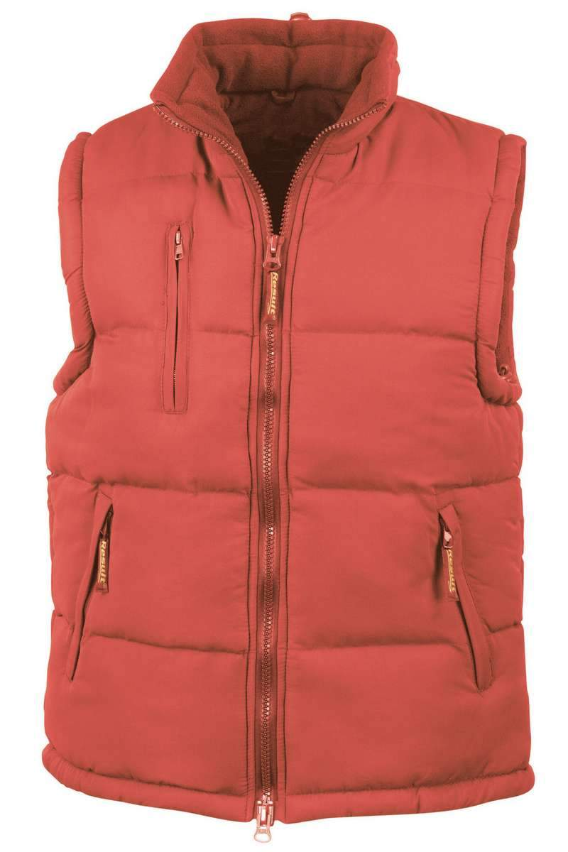 Ultra Padded Bodywarmer (RE88A) - Red - Lee Valley Ireland - 2